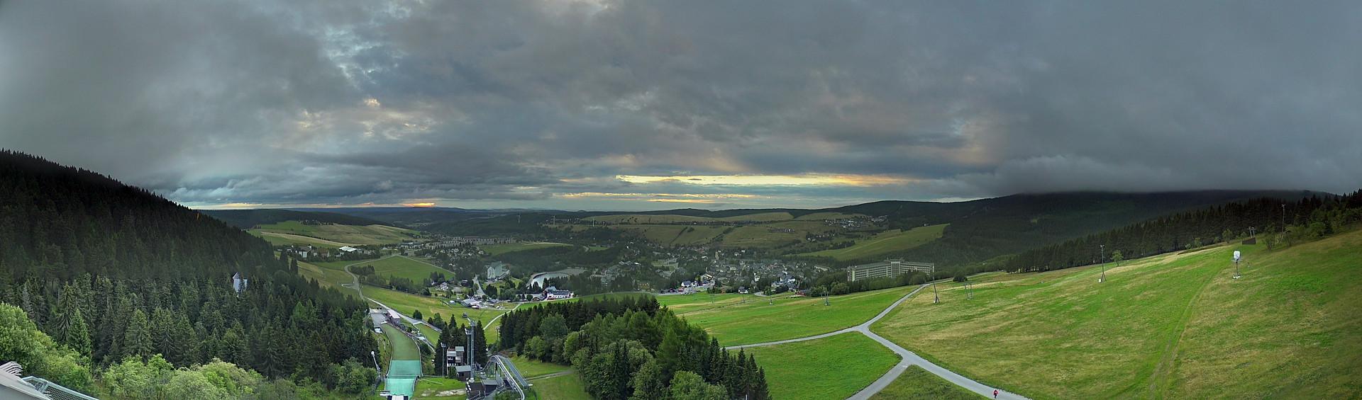 Fichtelberg - Oberwiesenthal panorama webcam