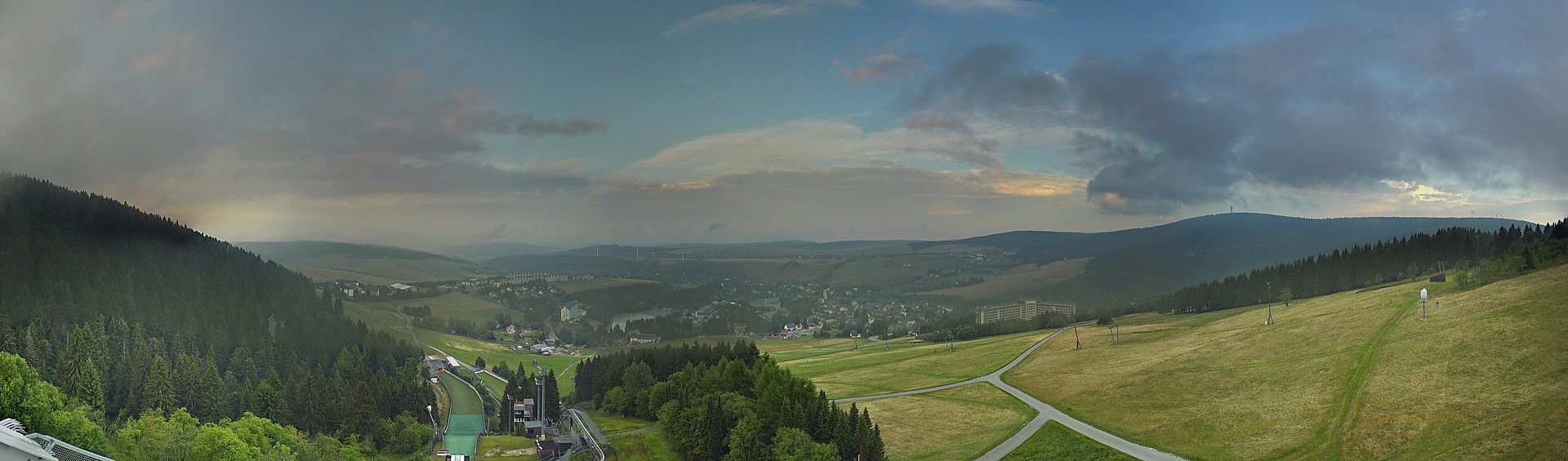 Panorama Webcam Fichtelberg